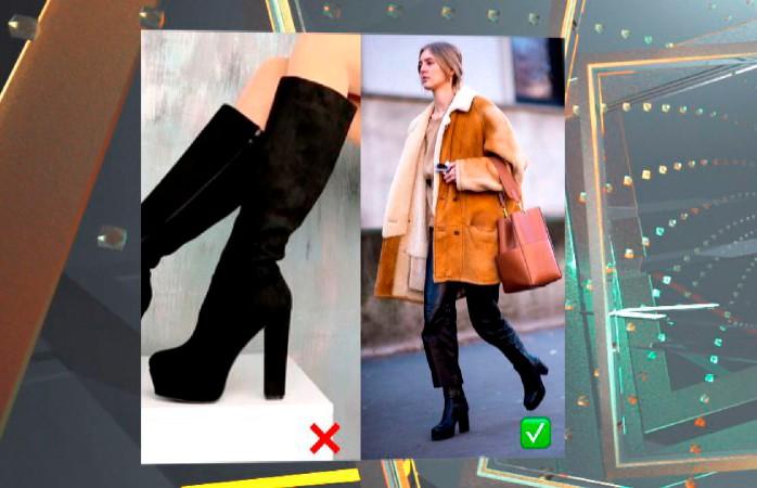 Выбираем сапоги на осень: широкое голенище и рельефная подошва – самая практичная обувь!