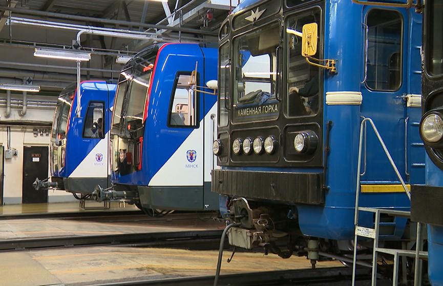 Новые поезда минского метро начнут возить пассажиров в 2020 году