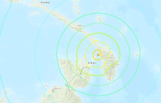 Угроза цунами объявлена в Папуа – Новой Гвинее