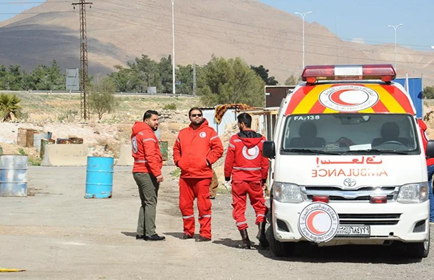 25 человек погибли при нападении террористов на автобус в Сирии
