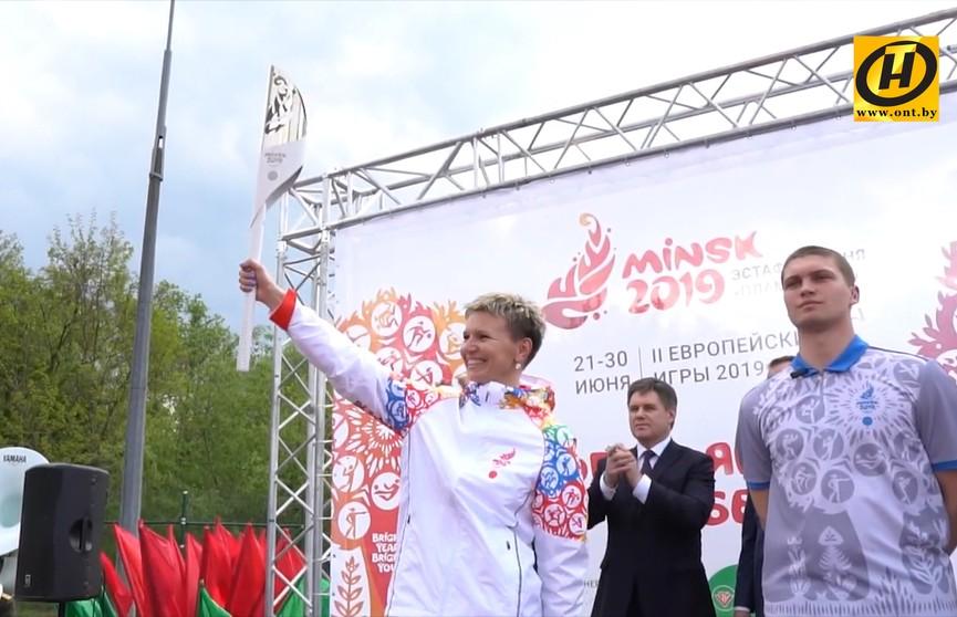 II Европейские игры: «Пламя мира» в Бобруйске
