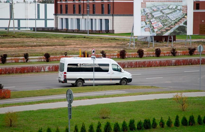 Маршрутка Борисов-Минск начала ездить через «Великий камень»