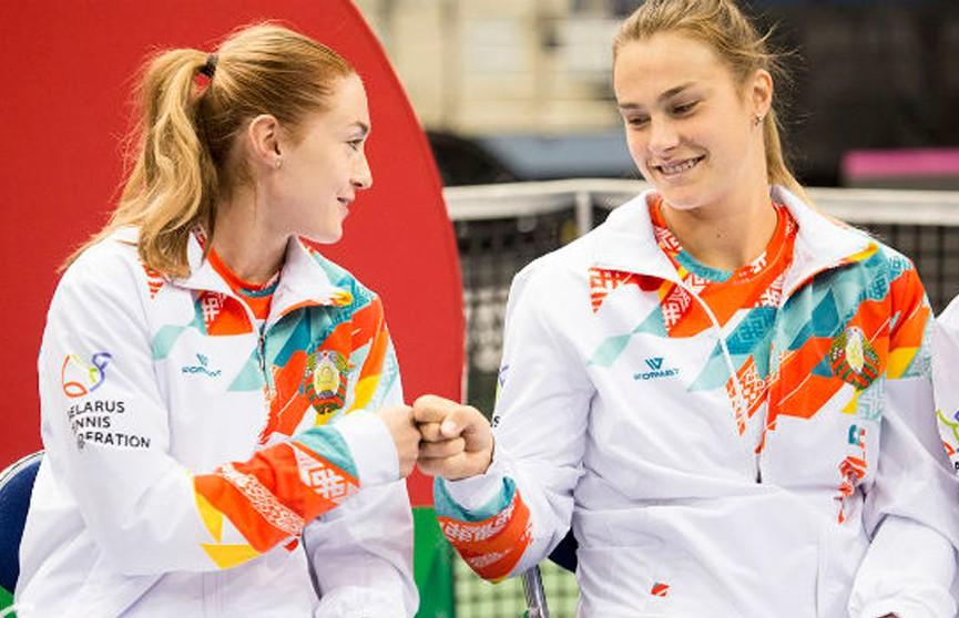 Александра Саснович  и Арина Соболенко вышли в 1/8 финала теннисного турнира в Нью-Хейвене