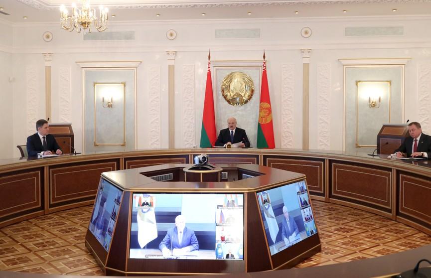 Александр Лукашенко призвал страны ЕАЭС объединить усилия в условиях пандемии. Итоги видеосаммита