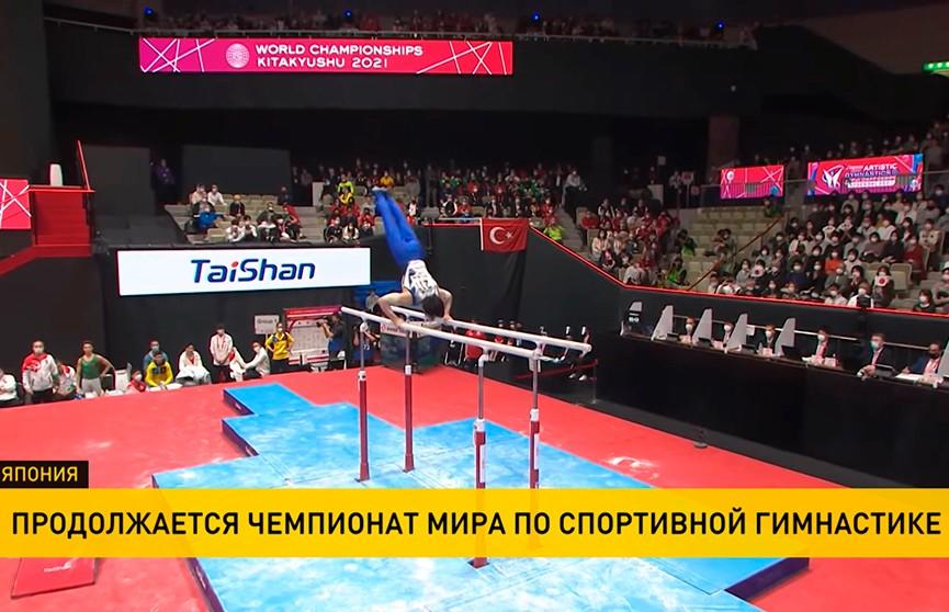 Китайский гимнаст Чжан Бохэн выиграл золото ЧМ-2021 в многоборье