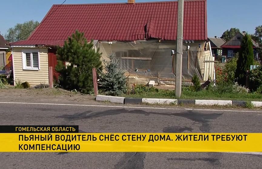 В дом пенсионеров ночью въехал МАЗ. Кто должен ремонтировать жилье?