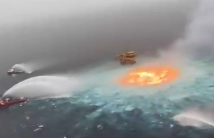 Подводный пожар потушили в Мексиканском заливе