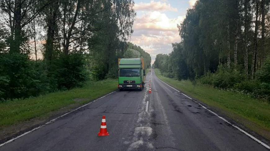 Грузовик сбил 14-летнюю велосипедистку в Полоцком районе