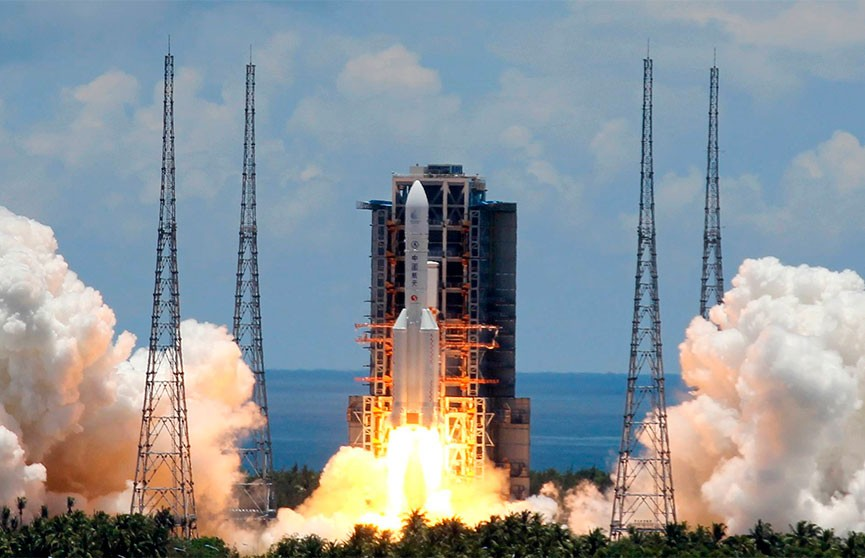 Китай запустил на Марс свой первый исследовательский зонд
