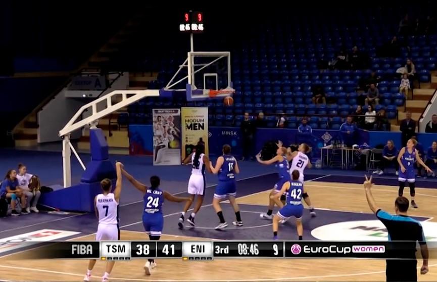 Баскетболистки «Цмокi-Мiнск» сыграют против словацкой команды «Ружомберок» в матче Кубка ФИБА-Европа