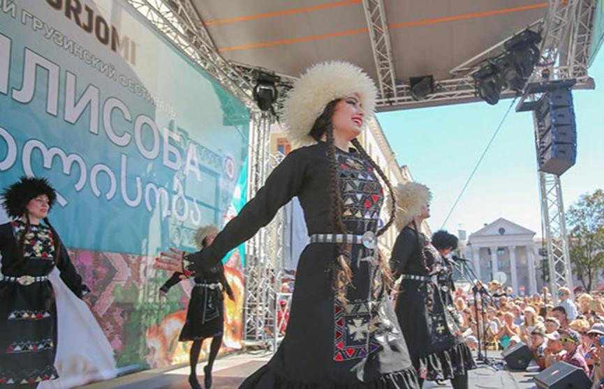 Фестиваль грузинской культуры «Тбилисоба» собирает гостей в Минске