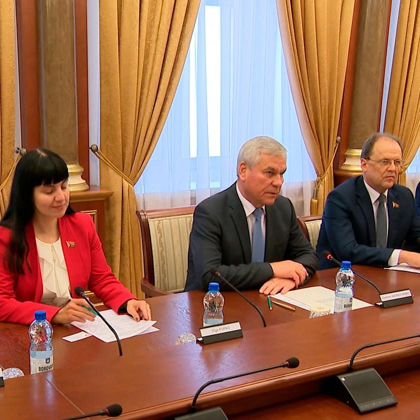 Двусторонние отношения Минска и Вены обсудили в Палате представителей на встрече с послом Австрии в Беларуси