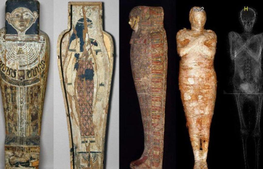 Ученые нашли уникальную мумию беременной женщины