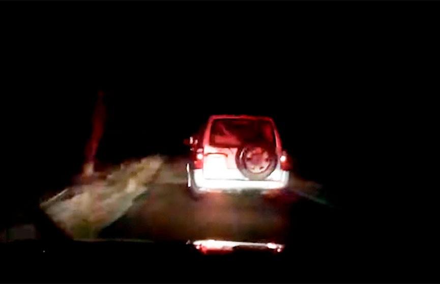 Пьяный бесправник пытался уйти от погони в Крупском районе