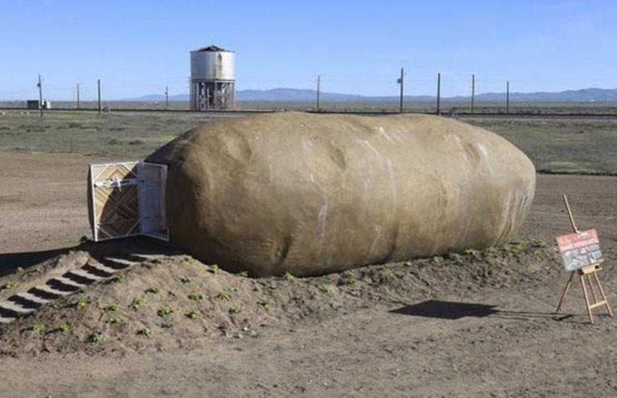 Отель в форме картошки появился в США (Фото)
