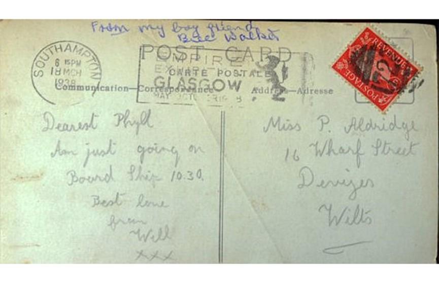 Любовное письмо дошло до адресата спустя 77 лет