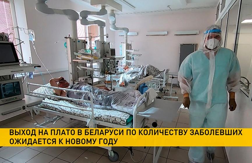 Минздрав: Беларусь выйдет на плато по количеству заболевших коронавирусом к Новому году