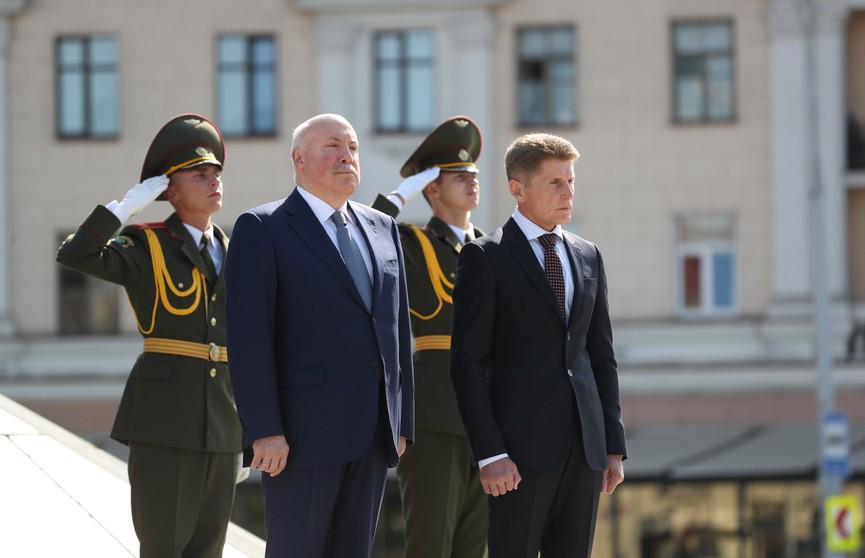 Продолжается визит делегации Приморского края России в Беларусь