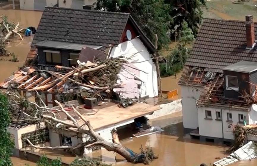 Наводнение в Германии: число погибших выросло до 156 человек