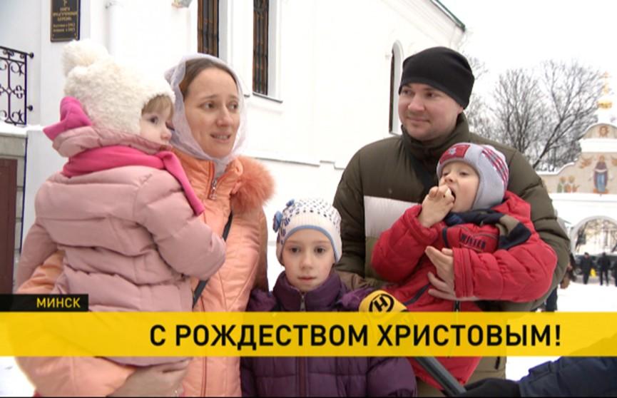 Как белорусы встретили светлый праздник – Рождество?