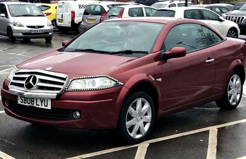 Автолюбитель пытался продать Peugeot переделанный под Mercedes