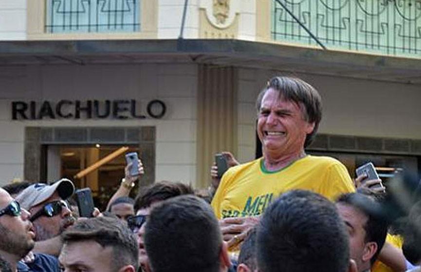 Кандидата в президенты Бразилии ранили ножом