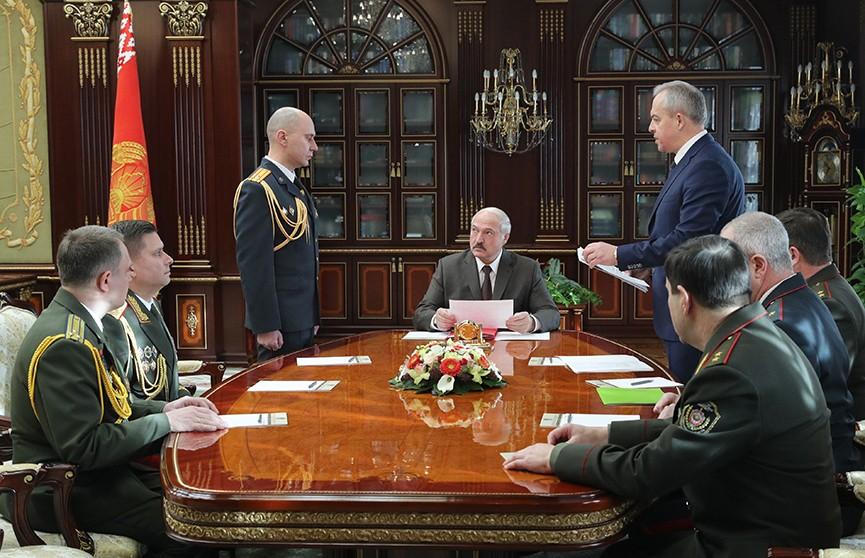 «Чтобы не было круговой поруки!» Александр Лукашенко прокомментировал кадровые изменения в КГБ и МВД