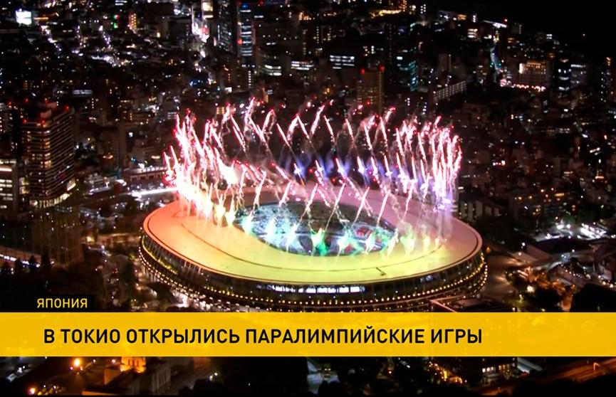 Церемония открытия Паралимпийских игр прошла в Токио