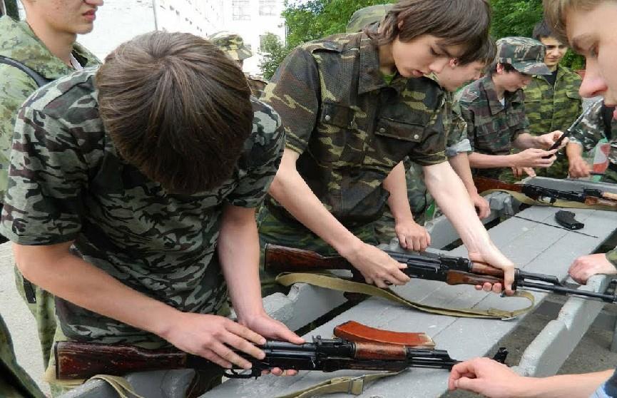 Ученики 8-9 классов будут проходить «Школу юных защитников отечества»