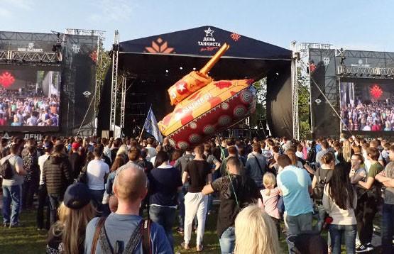 45 миллионов приглашений на «День танкиста». А если приедут все?