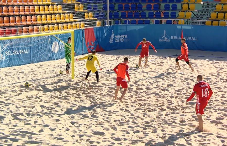 Белорусы обыграли сальвадорцев в чемпионате мира по пляжному футболу