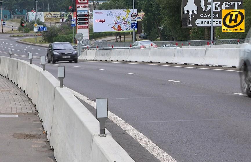 В Барановичах открыли новый путепровод