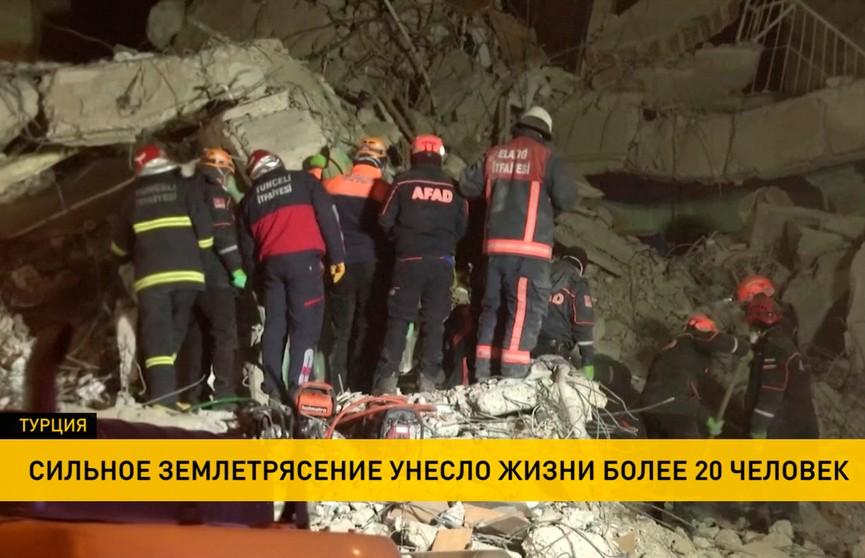 Землетрясение в Турции: количество погибших увеличилось