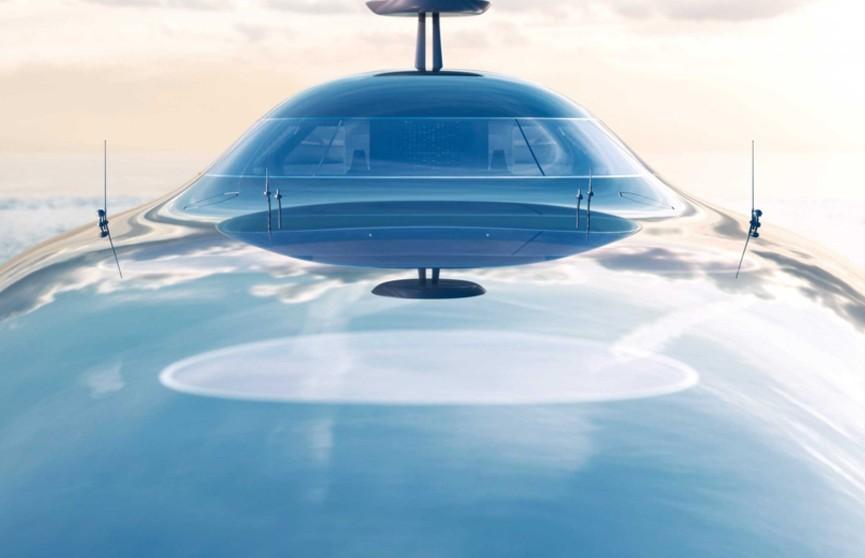 Дизайн первой в мире яхты на жидком водороде показали в Монако