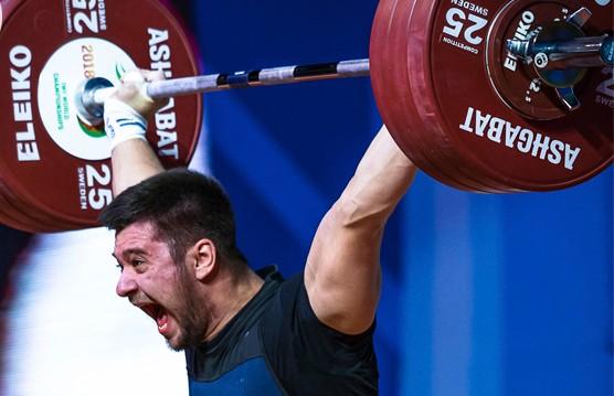 Белорус Евгений Тихонцов стал чемпионом Европы по тяжёлой атлетике
