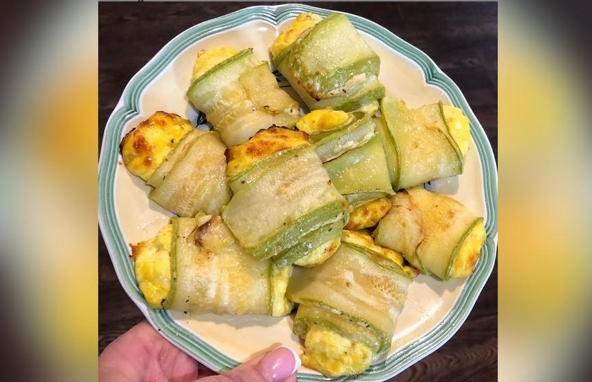 Рулетики из кабачков с сыром – такие аппетитные, что никто не устоит!