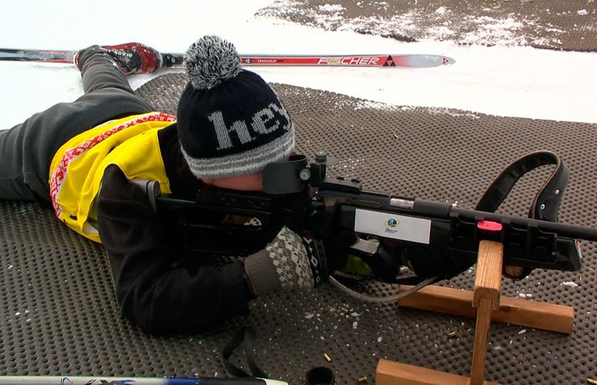 Биатлонные соревнования «Снежный снайпер» завершились в Раубичах