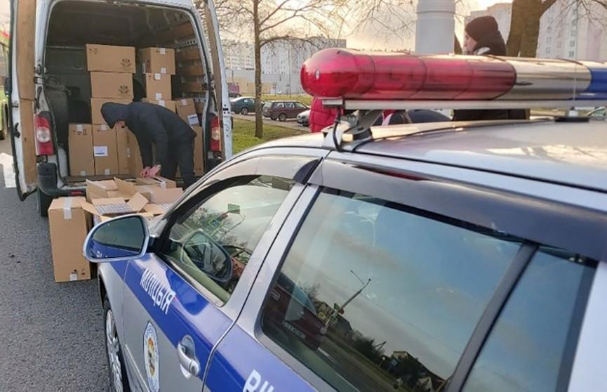 Нелегальную партию сигарет на Br30 тыс. конфисковали у жительницы Витебска