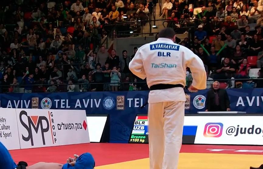 Александр Ваховяка завоевал бронзу по дзюдо на престижном турнире серии Гран-при в Тель-Авиве