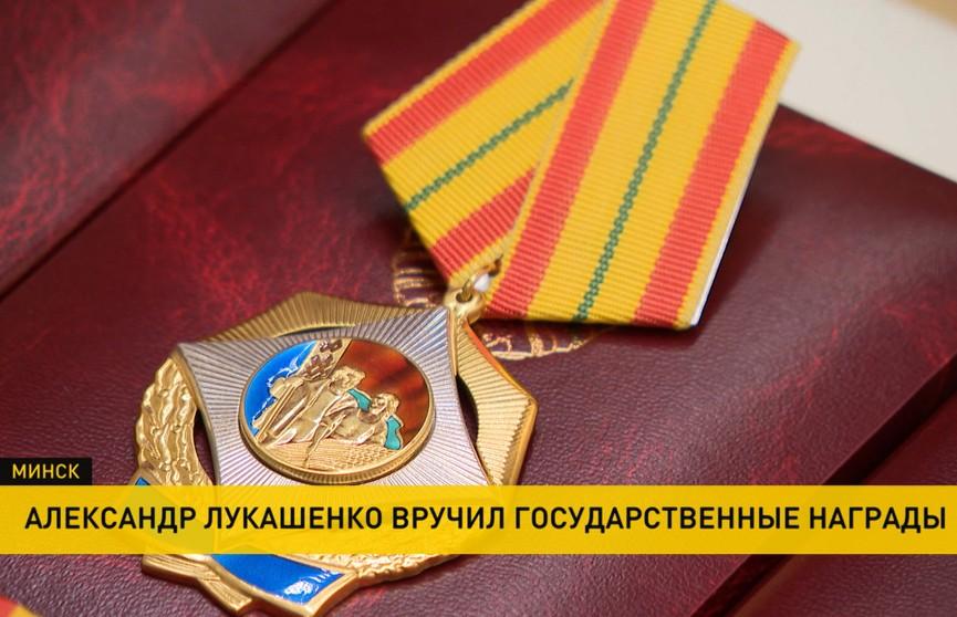 История страны в людях: лучшим работникам вручили госнаграды во Дворце Независимости