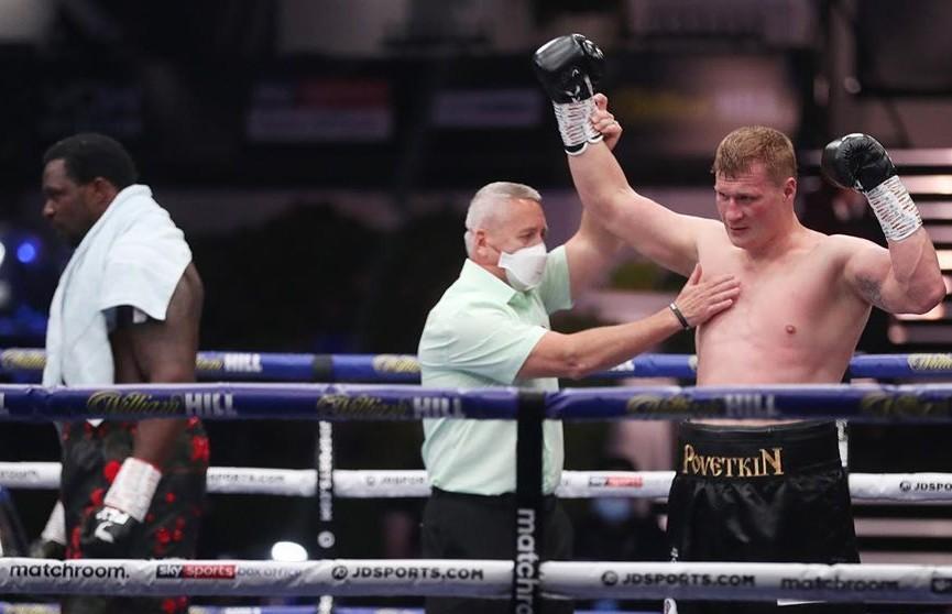 Александр Поветкин нокаутировал Диллиана Уайта и стал временным чемпионом мира WBC