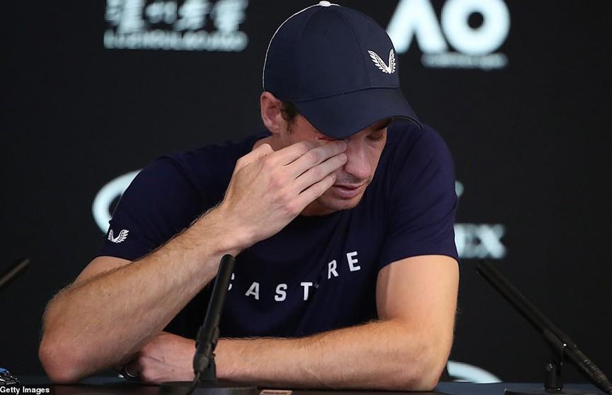 Теннисист Энди Маррей со слезами на глазах объявил о завершении карьеры