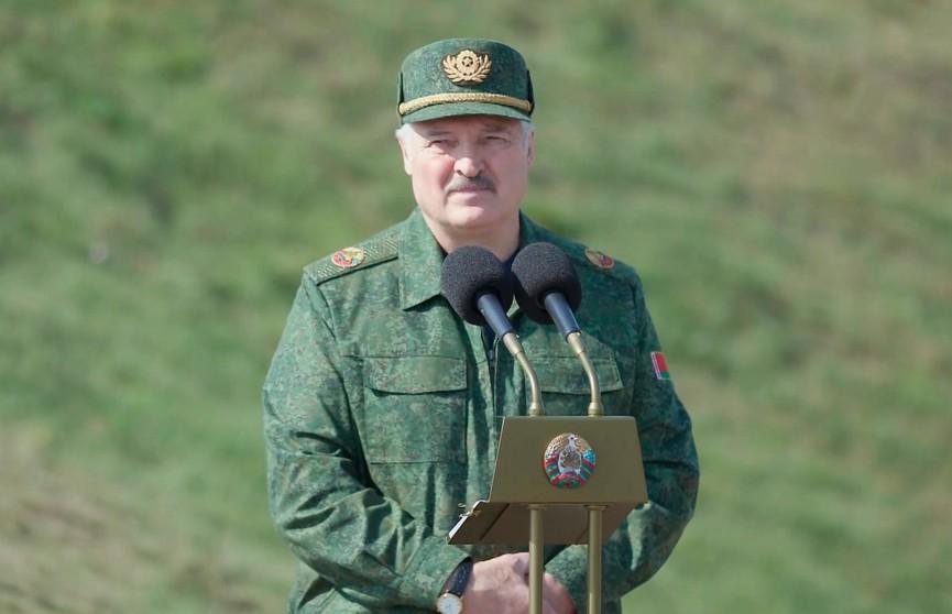 Лукашенко о сути учения «Запад-2021»: Нельзя расслабляться, учитывая опыт 41-го года. История многому учит. Мы хотим быть заранее готовы