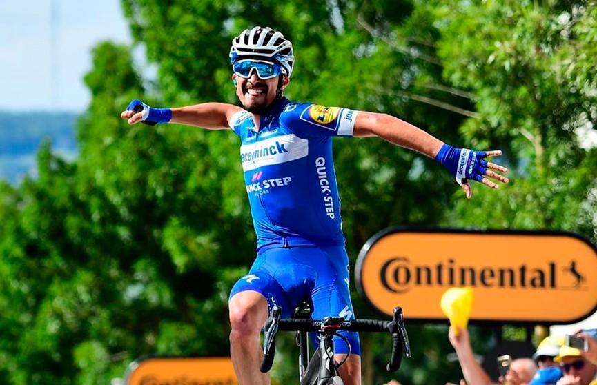 «Тур де Франс»: лидер общего зачёта – Жулиан Алафилипп