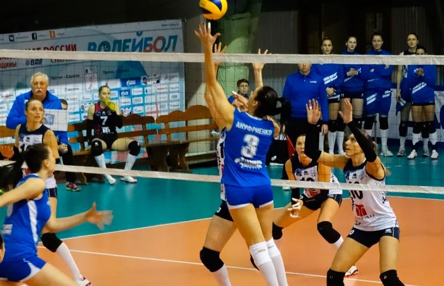 У волейболисток «Минчанки» – третья победа в российской суперлиге