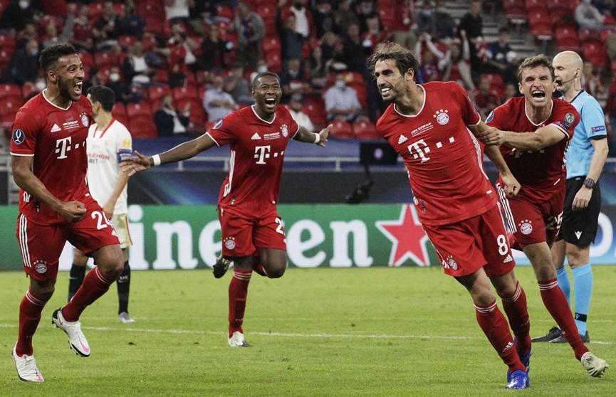 «Бавария» победила «Севилью» и во второй раз в истории завоевала Суперкубок УЕФА