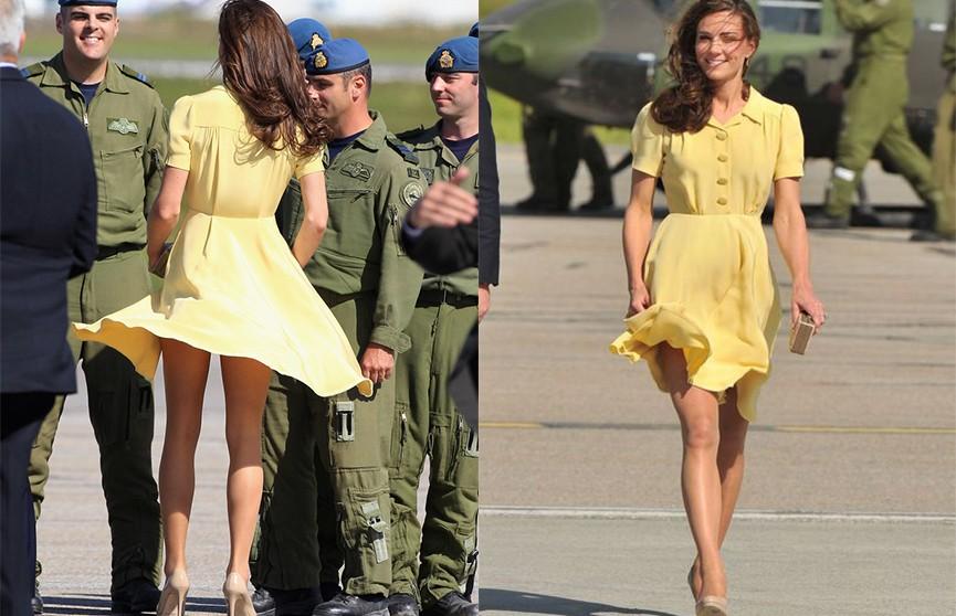 Стало известно, что Кейт Миддлтон носит под юбкой грузики. Узнайте почему