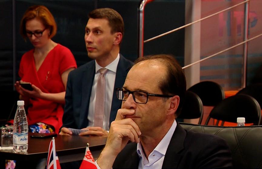 Министр внешней торговли Великобритании посетил Минск