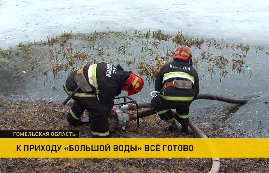 В режиме ожидания. Гомельская область готовится к приходу «большой воды»