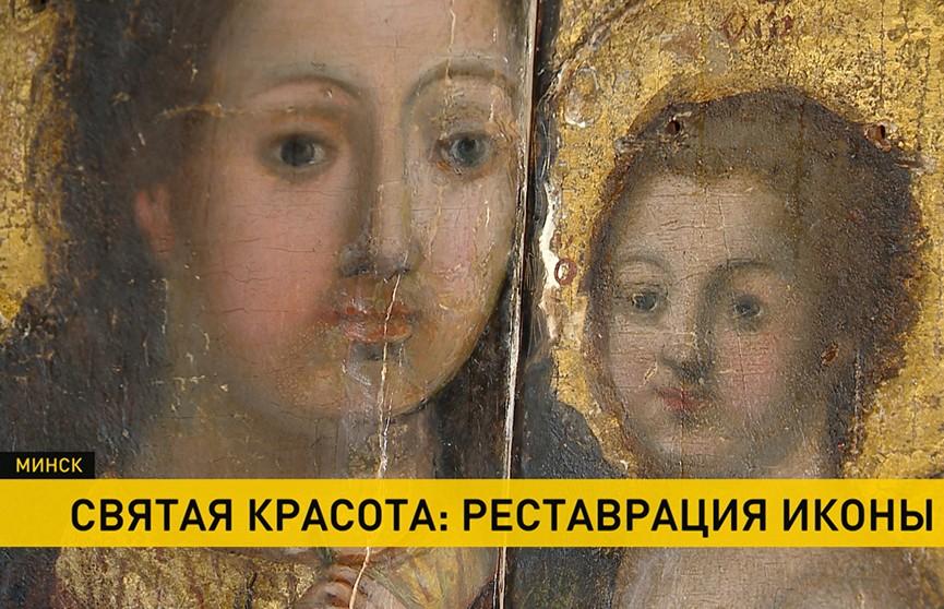 Загадки сакрального памятника: началась реставрация иконы Божией Матери XVIII века с Полесья